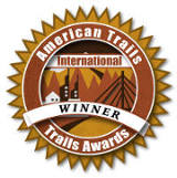 Winner American Trails International Trails Awards