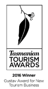 Winner Gustav Award New Tourism 2016