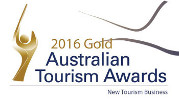 2016 Gold Australian Tourism Awards - New Tourism Business
